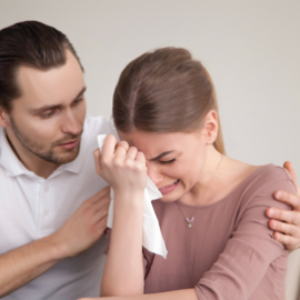 Blokkades om empathisch te reageren